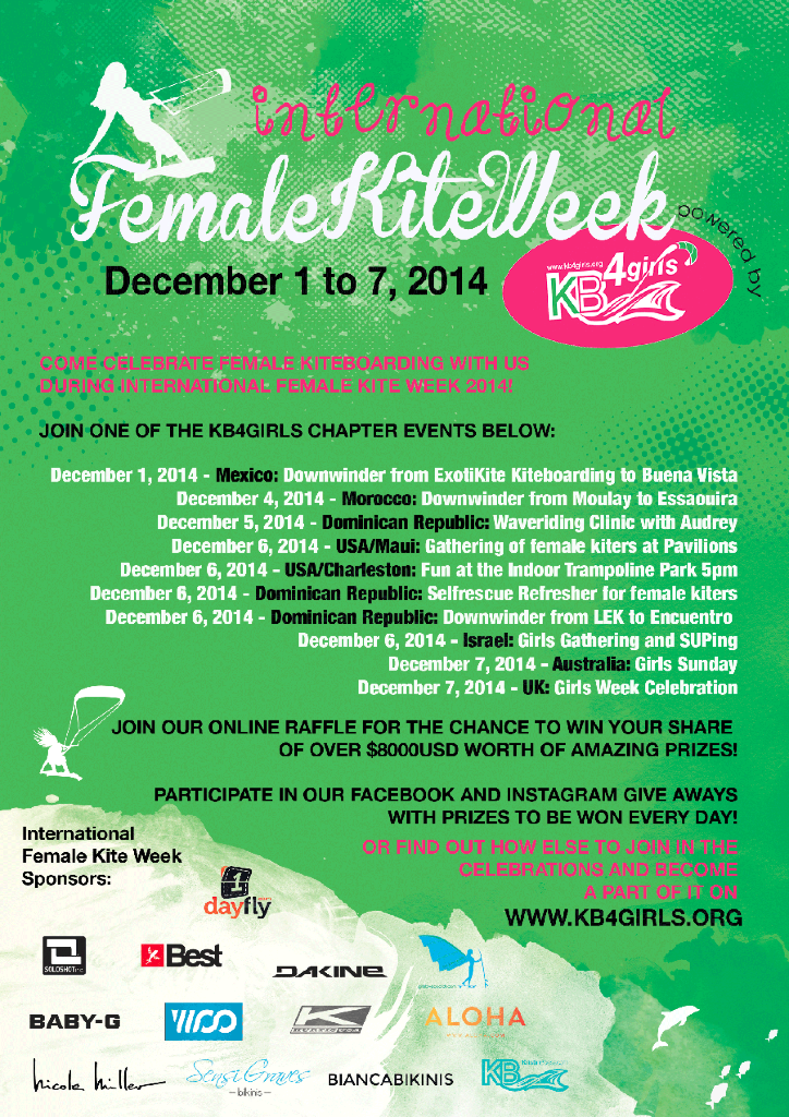 IKFW - KB4girls & International Female Kite Week