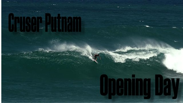 cruser putnam opening day - Cruser Putnam: Opening Day