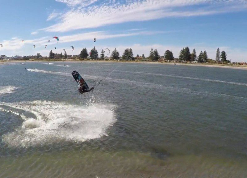Kitesurf views from above
