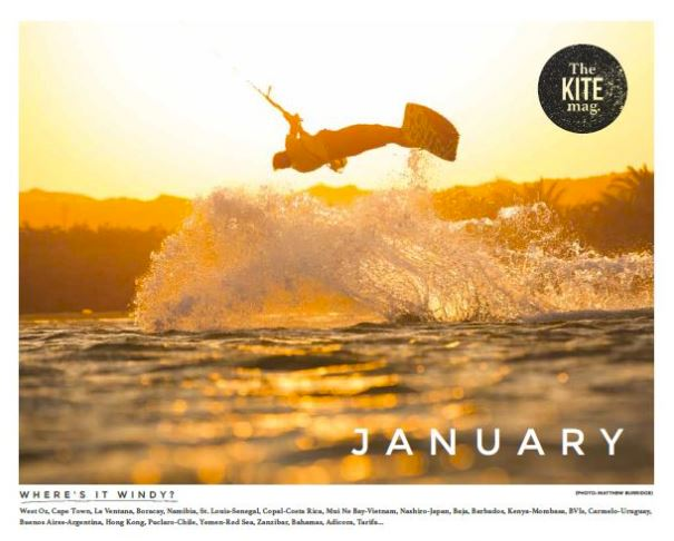 Calendar - TheKiteMag Issue #1