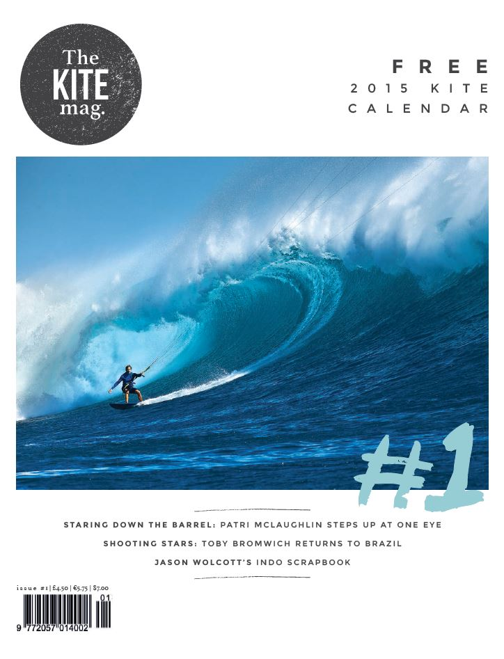 Issue 1 Cover - TheKiteMag Issue #1