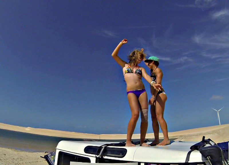 celine liloo brazil 2014 800x576 - Céline & Liloo Brazil 2014