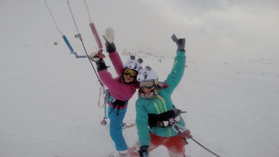 4 - Kari's glory at Snowkite Masters