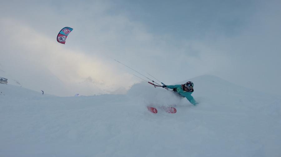 Skjermbilde 2015 01 18 kl - Kari's glory at Snowkite Masters