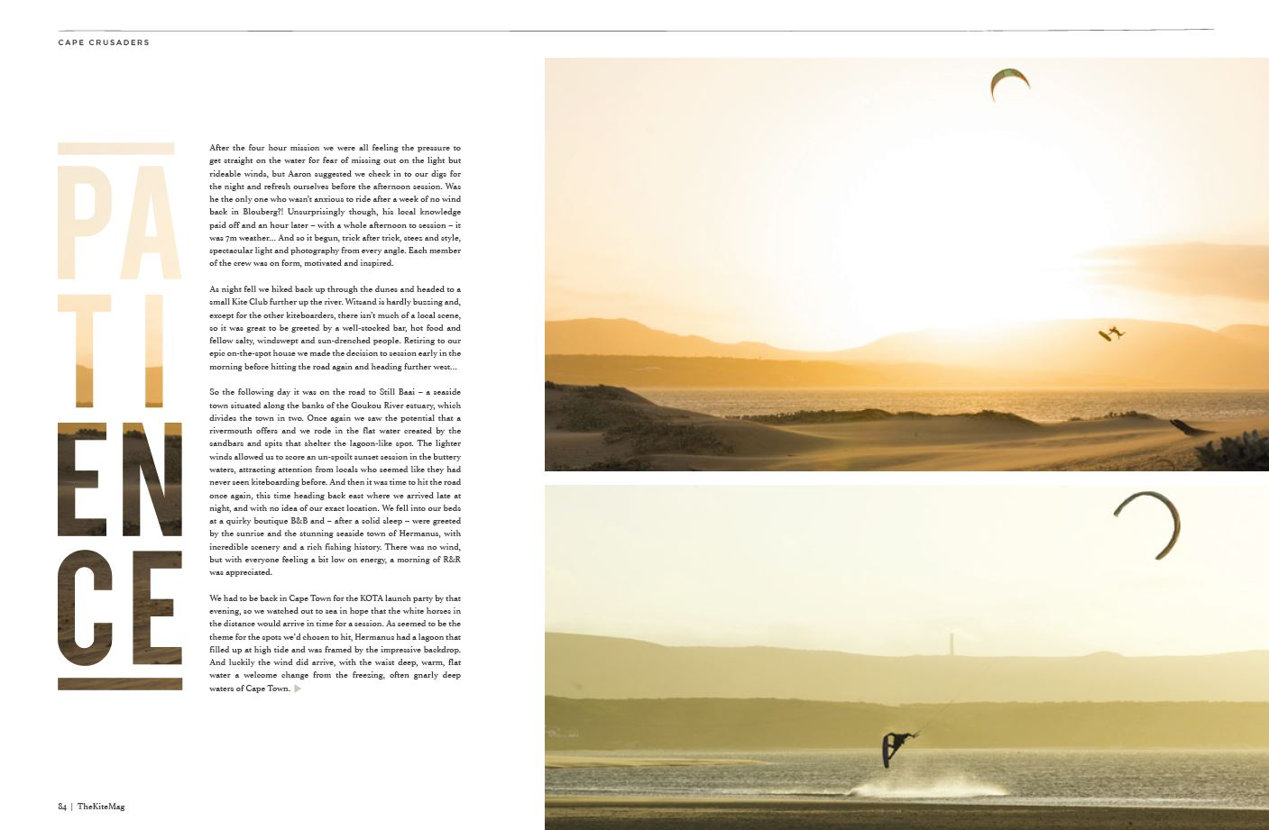 Cape Town - TheKiteMag Issue #3