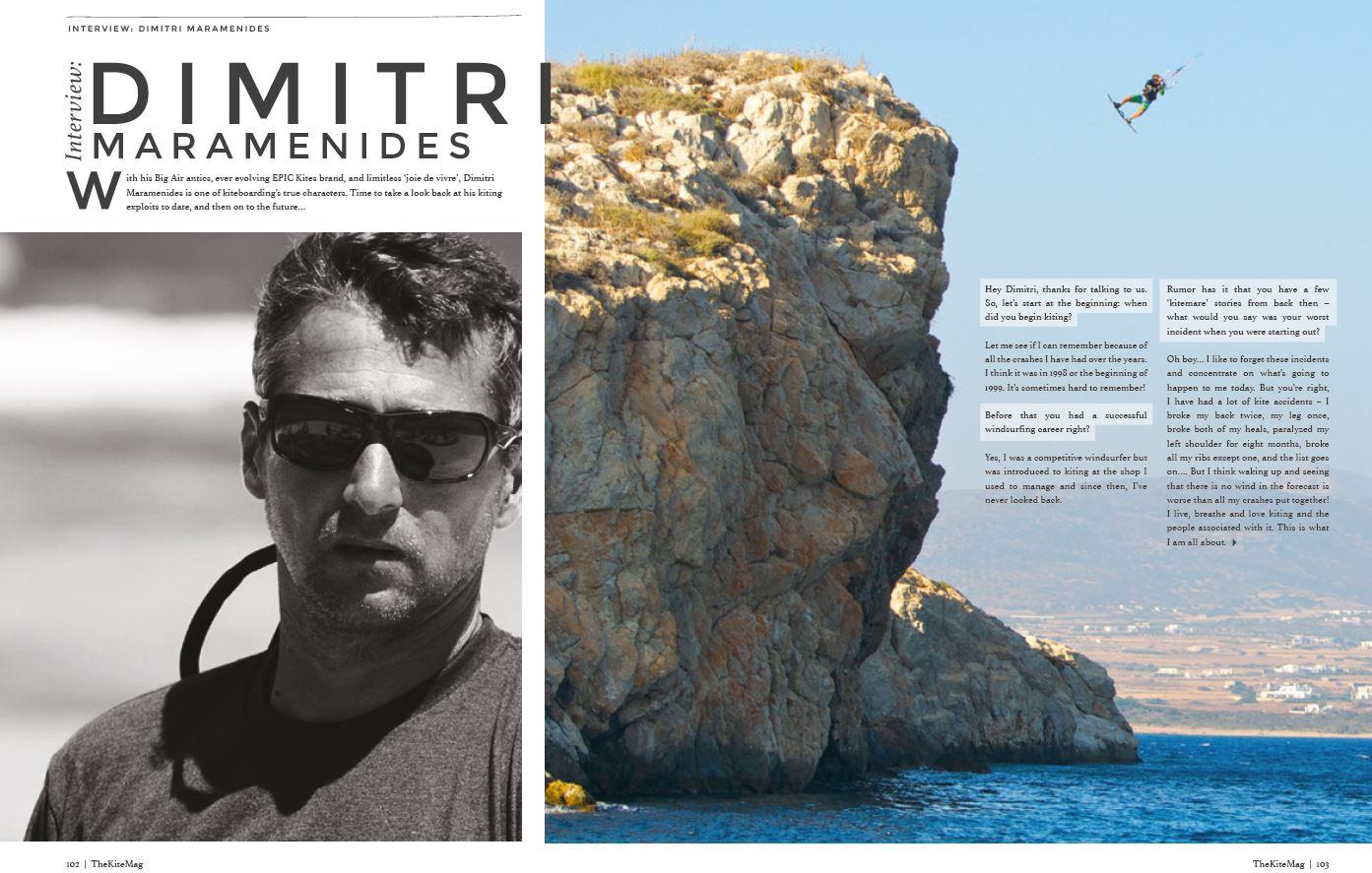 Dimitri - TheKiteMag Issue #3