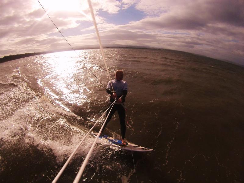 G0011416 - Kitesurfing in the Highlands