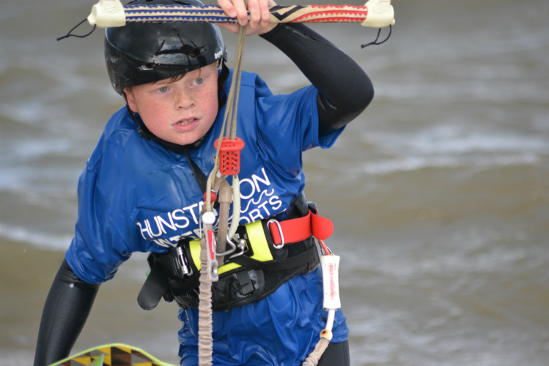 Toby Cooke determined to progress at Barrow Youth Camp 2014 - UK Young Riders Weekends