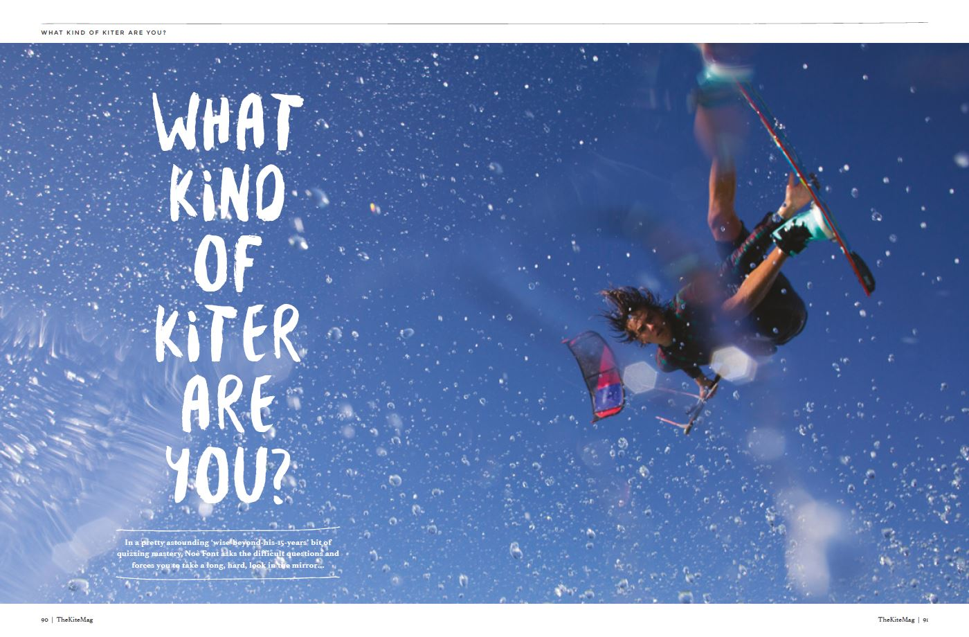 What kind of kiter. - TheKiteMag Issue #3