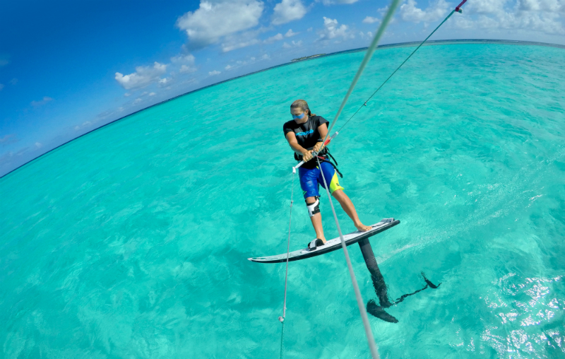 F ONE team Alex caizergues lagoon - F-ONE Kitefoil released