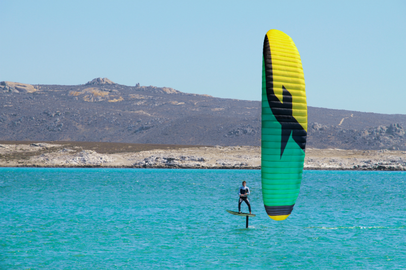 F ONE team Maxime nocher foilkite south africa - F-ONE Kitefoil released
