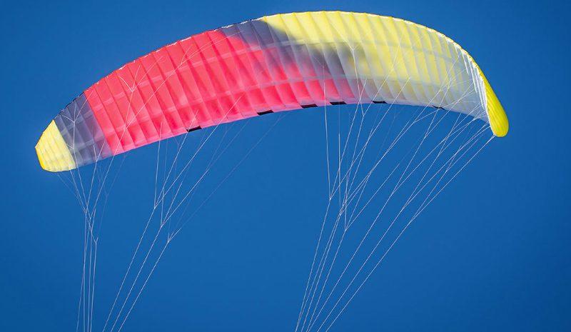F ONE kite foil red yellow intrados 0 800x465 - F-ONE Foil Kite: Raphaël Salles
