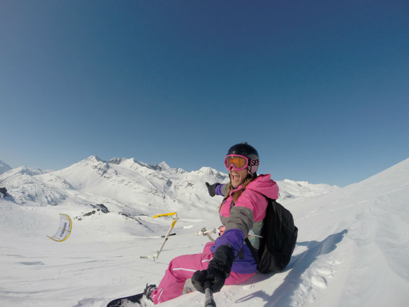 G0068153 - Snowkiting in Alaska