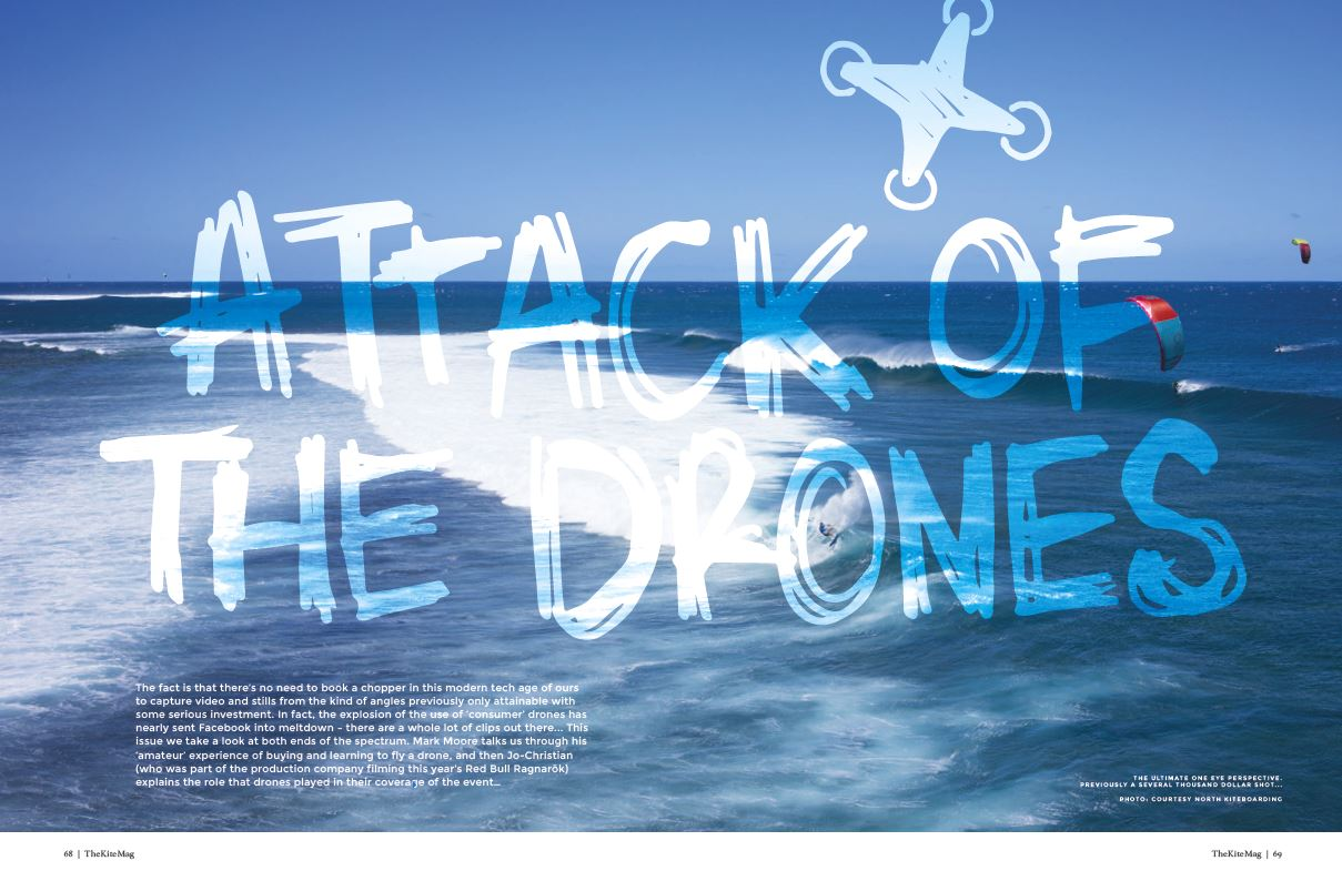 Attach of the Drone - TheKiteMag Issue #4