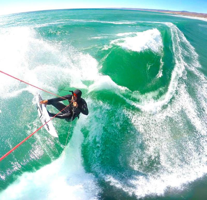 TDZRawsonBoardGoPro - BWSurf release Ian Alldredge TDZ Signature Kite