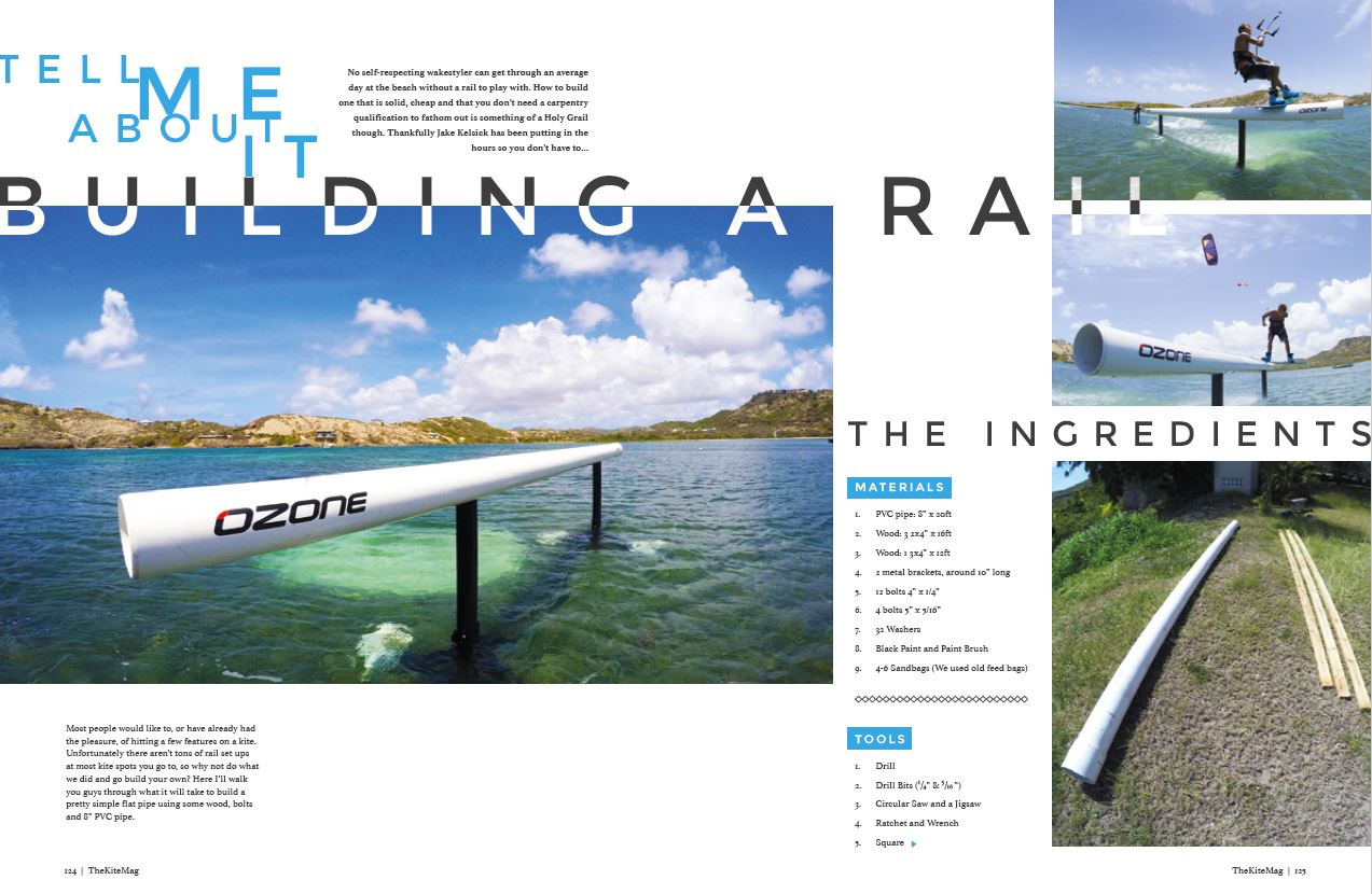 Build a rail - TheKiteMag Issue #5