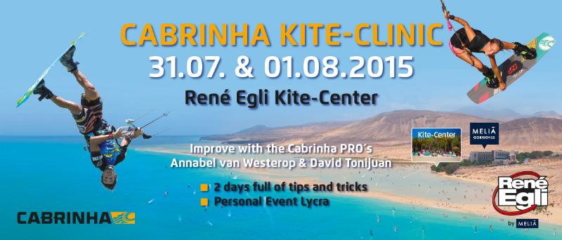 header kite clinic - Cabrinha Kite Clinic 2015