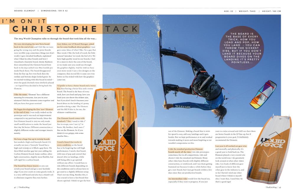 TheKiteMag issue6 Im on it Christophe - TheKiteMag Issue #6