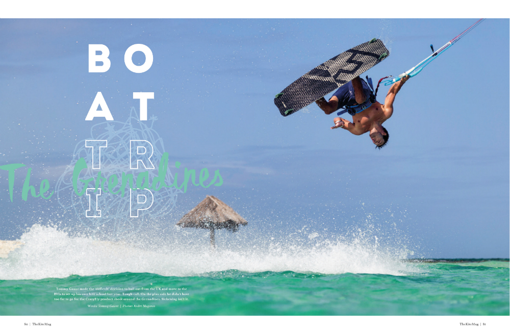 Issue 7 boat trip 1 - TheKiteMag issue #7