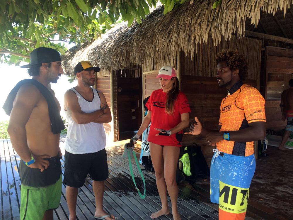Mitu Seb coaching - UNCHARTED BRAZIL: MITU & SEBASTIAN RIBEIRO DOWNWINDER PT.VI