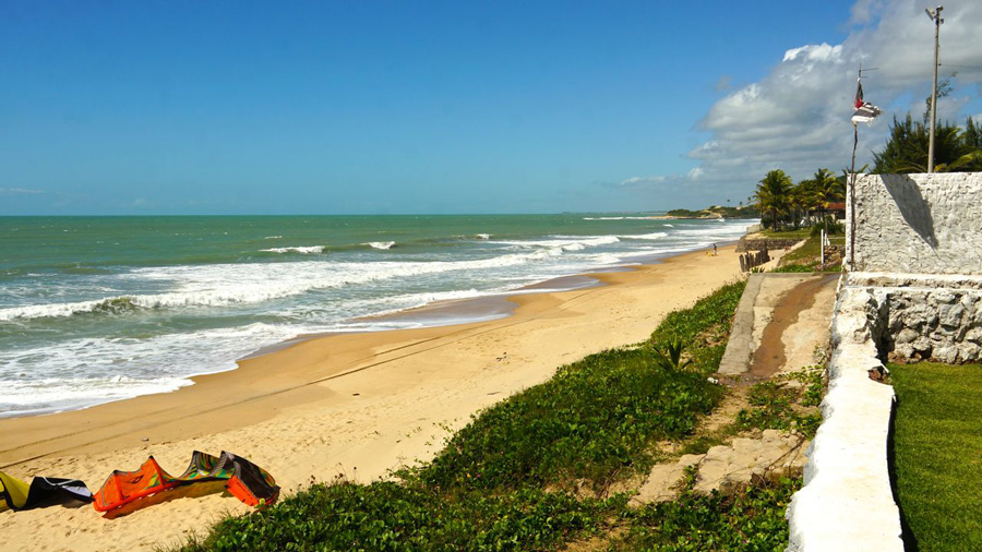barra de camaratuba - PASSEIO: A family kitesurf trip