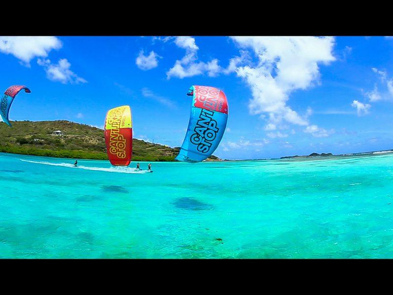 kitesurfing union island 800x600 - Kitesurfing Union Island