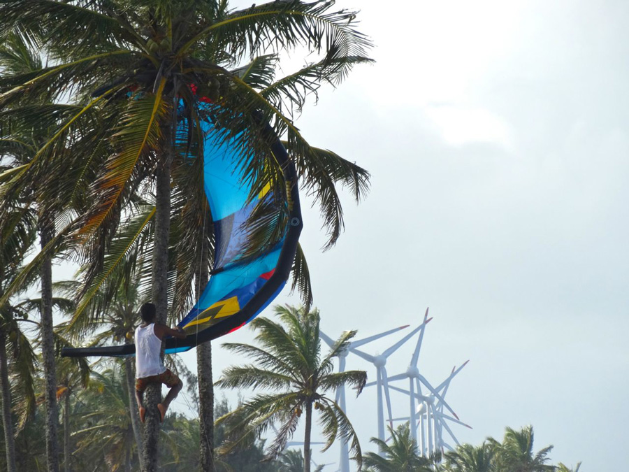 local kid savind the day - PASSEIO: A family kitesurf trip