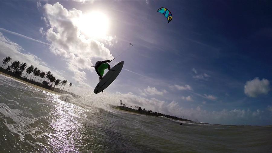 nice view - PASSEIO: A family kitesurf trip