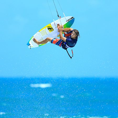 F ONEkites camille delannoy action 0 450x450 - Camille Delannoy joins F-ONE and Manera