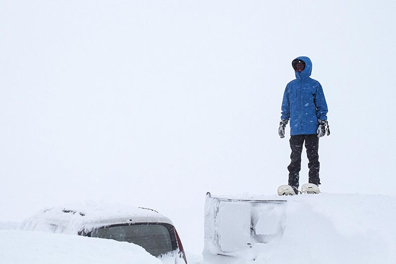 TrugerogBil - CLOSED ROADS - A Norwegian snowkite adventure