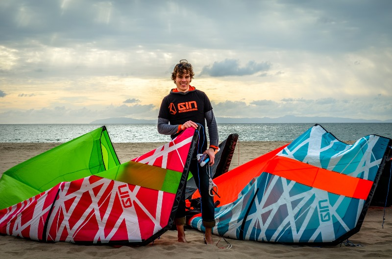 Jonas Hiller GIN KITEBOARDING - GIN Kiteboarding gains new ownership