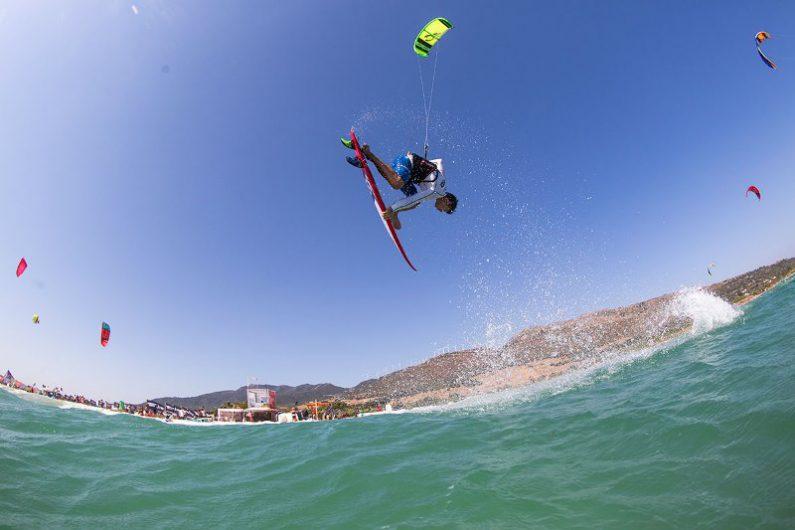 Keahi de Aboitiz runner up Photo Toby Bromwich Tarifa Strapless Kitesurfing Pro 2015 795x530 - Tarifa Strapless Wave and Freestyle Grand Slam gearing up