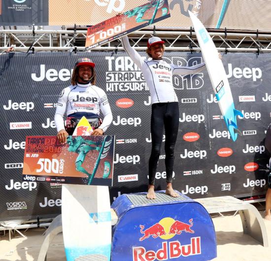 Best trick podium 800final11 550x530 - Tarifa Strapless Pro Final Results