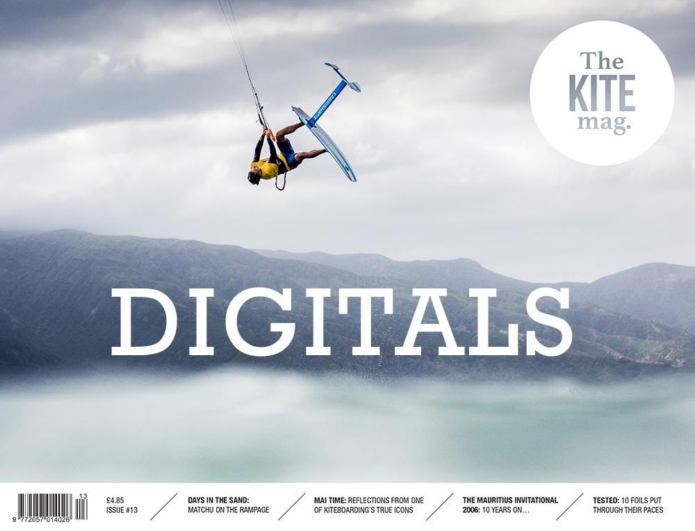 TheKiteMag Issue 13 cover DIGIS - TheKiteMag issue #13