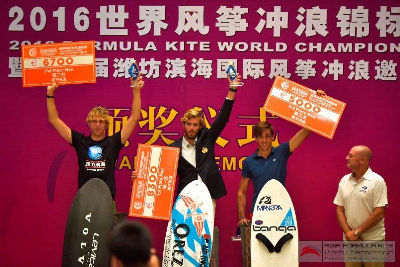 podium1 795x530 - IKA Formula Kite World Championship China