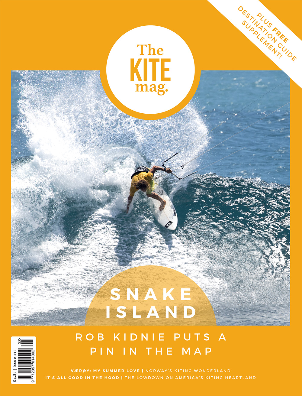 TheKiteMag Issue 15 Cover HR - TheKiteMag issue #15