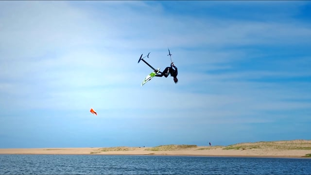 freestyle kitefoiling with dylan - Freestyle Kitefoiling with Dylan van der Meij