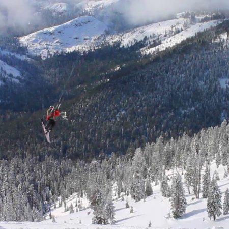 Snow returns to Sierra Nevada