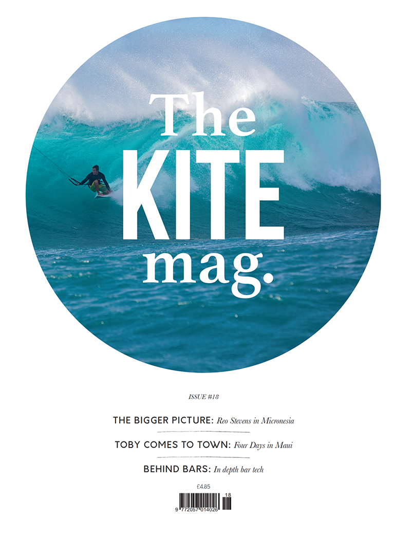 18 cover - TheKiteMag issue #18