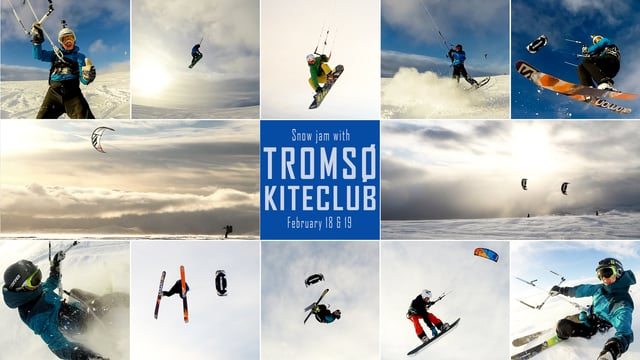 tromso kite club snow jam - Tromsø Kite Club Snow Jam