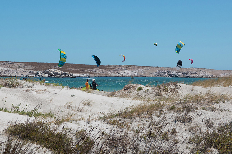 Beach.6 - Langebaan: The perfect place to kitesurf