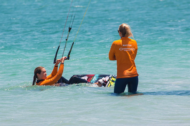 Kite School.1 - Langebaan: The perfect place to kitesurf