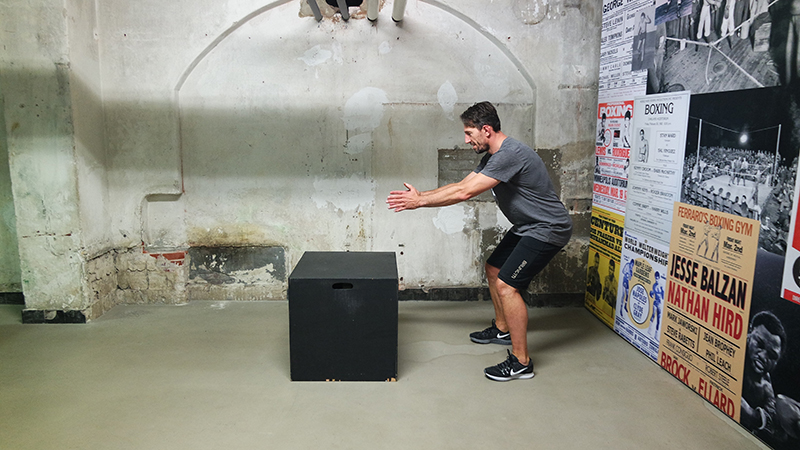 Box Jump 1 - Profile: KiteMedical