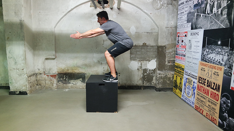 Box Jump 3 - Profile: KiteMedical