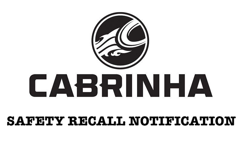 CAB SAFETY 800x500 - Cabrinha: Safety Recall Notice
