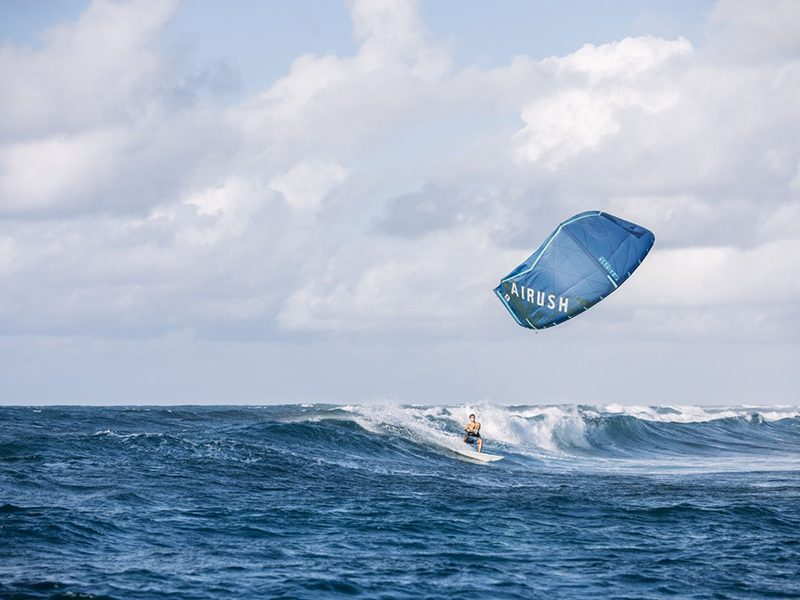 Airush Kiteboarding Oswald Smith Ydwer.com Wave Kite 2 800x600 - Airush release new Team and Diamond Series collection