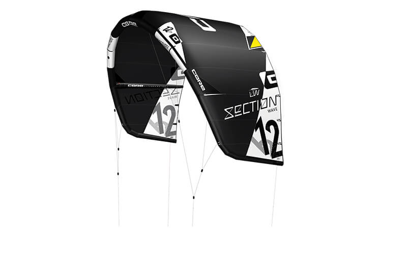 CORE Section 2 Lightwind Cutout black 300dpi copy - CORE unleashes 2nd Generation comp level Wave and C-kite