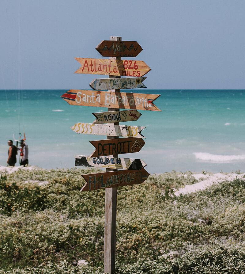 Signpost shot - Paradise Found