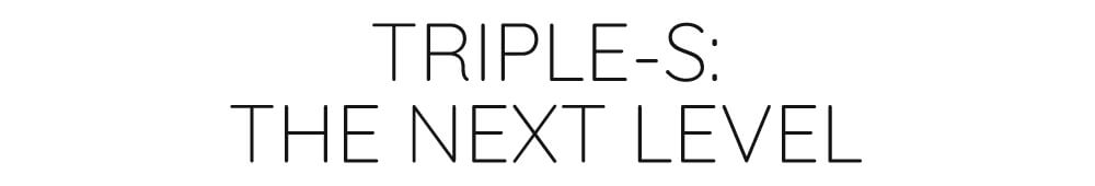 TRIPLE S TITLE - THEKITEMAG ISSUE #20