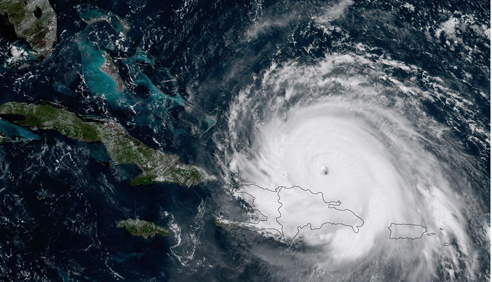 IRMASat11amThurs 980 - Irma arrives on Cabarete